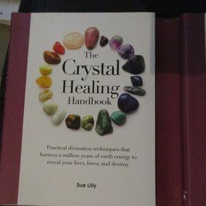 Crystal Healing handbook & journal set 1812